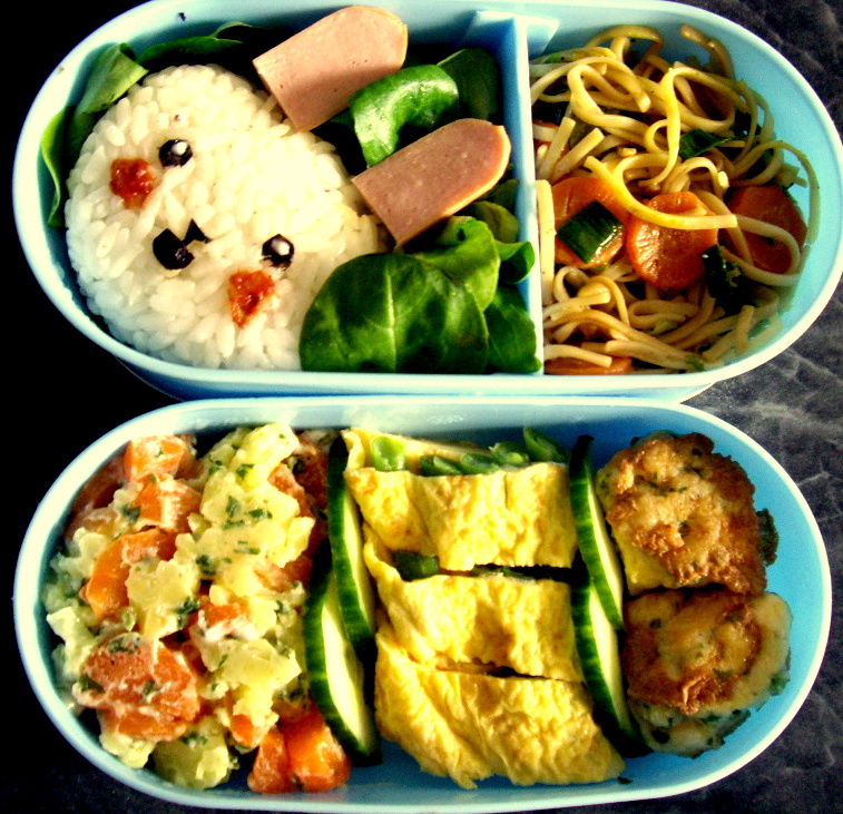Usagi Bento by Cephis