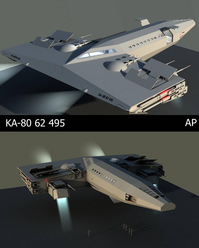 Ka-80 Spaceship construction A