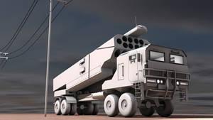 Rocket Launcher Truck 3D