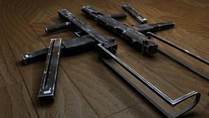 Full Auto Pistol Game Model