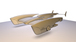 Roadster TR-36 WIP by Artificialproduction