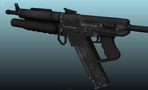 SRG-4 Rifle Texture Update