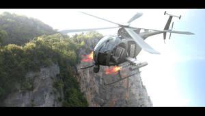 AH-6j Little Bird Untextured by Artificialproduction