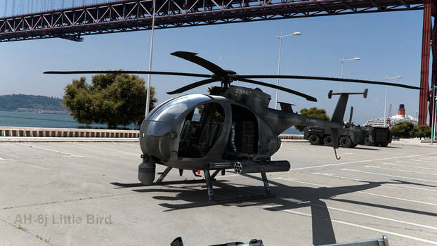 AH-6j Little Bird Camera Mapping by Artificialproduction