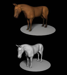 Horse by Artificialproduction