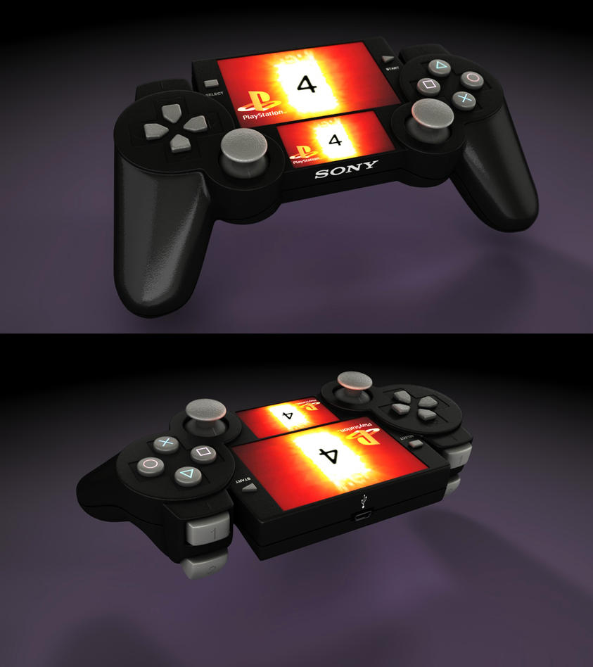 Playstation 4 Controller by Artificialproduction on DeviantArt