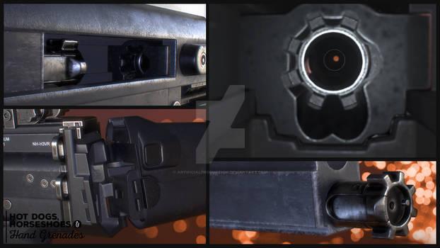 FN Scar mk17 LB detail shots