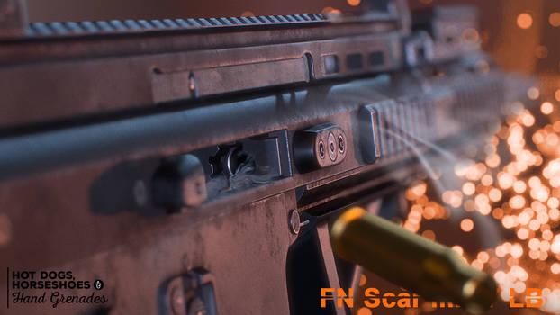FN Scar mk17 LB action shot