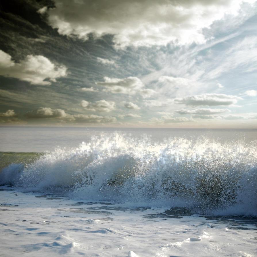 Ocean Premade Background by Azaroe