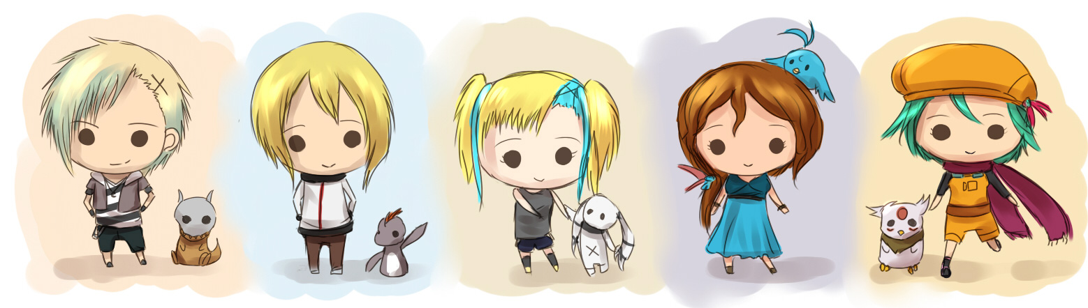 Tdw More Chibi Boys And Girls By Firstfarewell On Deviantart