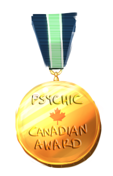 Psychic Canadian Award