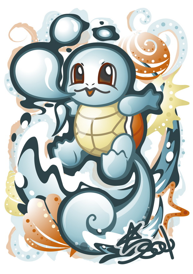 Squirtle by Star-Soul
