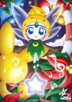 Meloetta Tinker Bell by Star-Soul