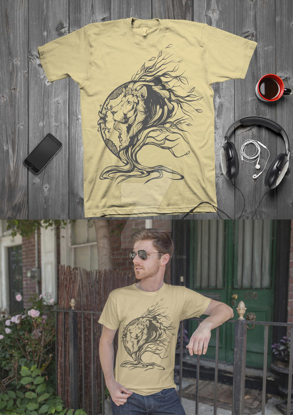 T-shirt Spirit of the Savanna(He Lives in you) by StudioEffedue