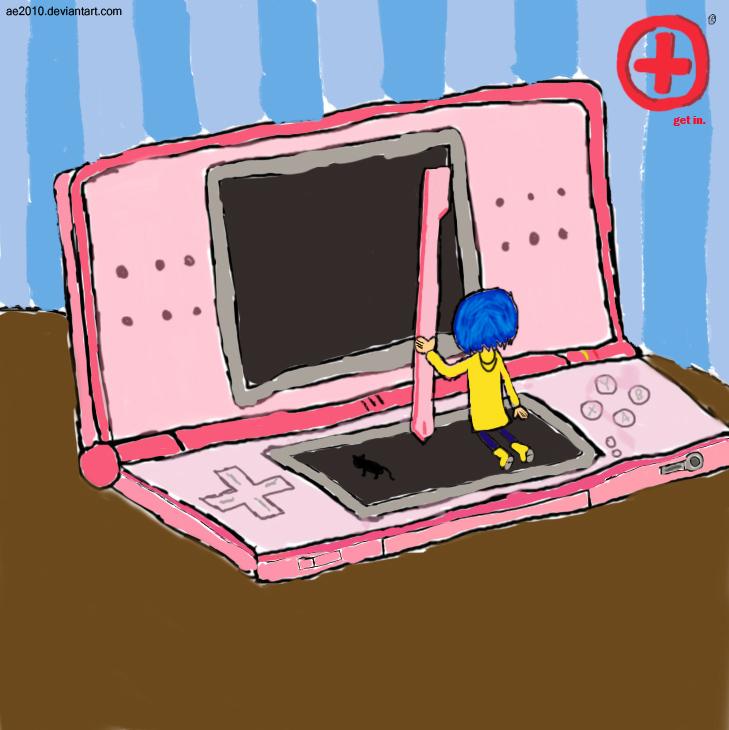 Coraline's DS Lite By AE2010 On DeviantArt