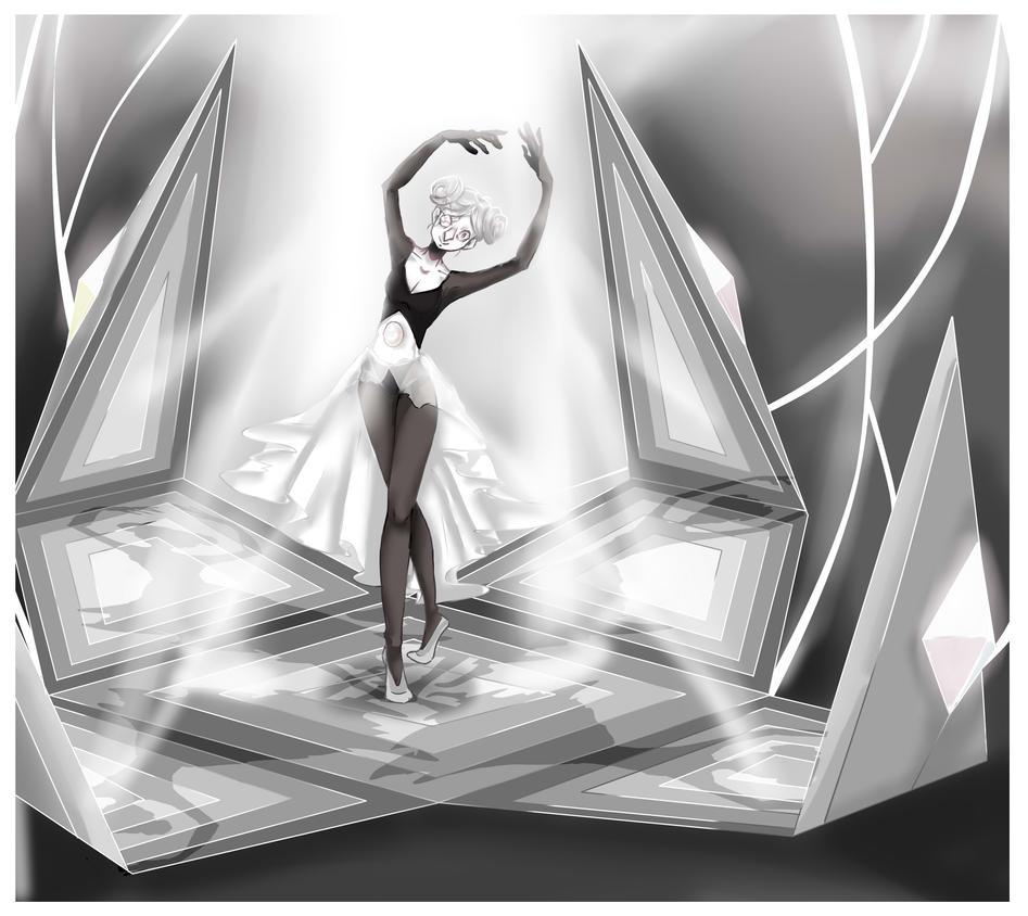 #steven universe#white pearl