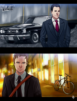 Suits Fanart: Inside Track by NinaKask