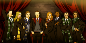 Suits FanArt: Hogwarts by NinaKask