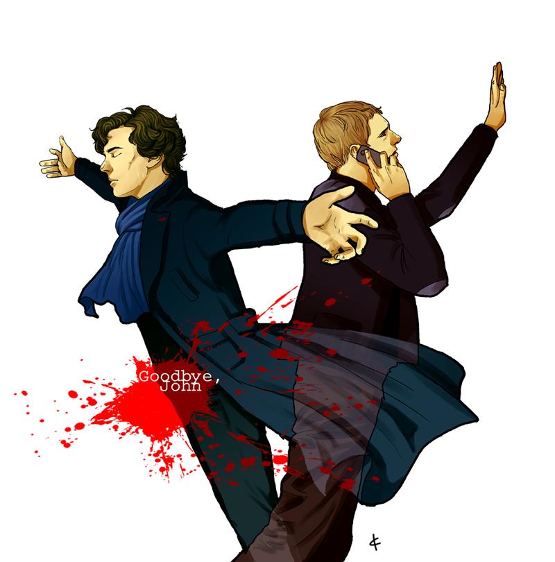 Sherlock BBC FanArt: A note by NinaKask