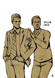 Will+Grace Fanart: Soulmates