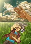 Teen Wolf FanArt: Get off of my cloud