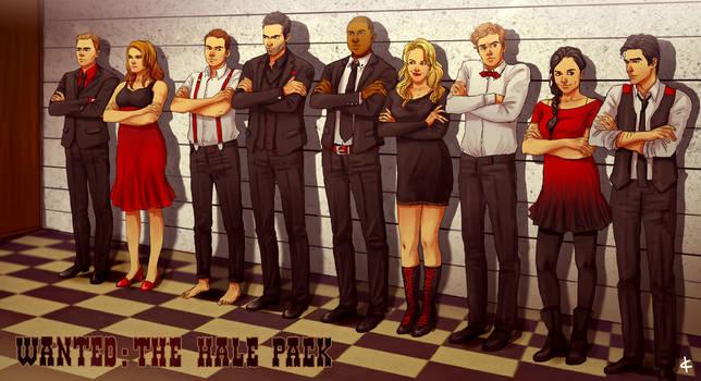 Teen Wolf FanArt: Mafia AU by NinaKask