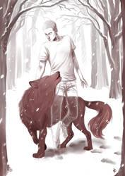 TeenWolf FanArt: Winter Howl