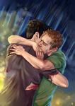 Teen Wolf FanArt: First Embrace
