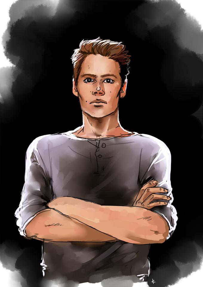 Teen Wolf FanArt: Hello darkness, my old friend by NinaKask