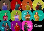 Teen Wolf FanArt: Pins