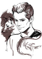Teen Wolf FanArt:  Fox time by NinaKask