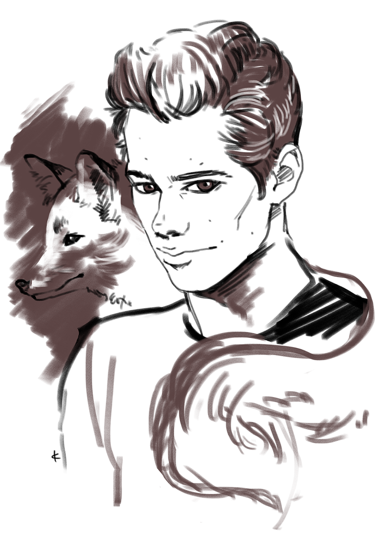 Teen Wolf Fanart Fox Time By Ninakask On Deviantart
