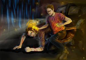 Teen Wolf FanArt: Is that blood... by NinaKask