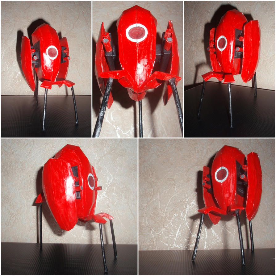 Portal Turret :RED: by Vrock8