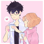 owning a cafe together