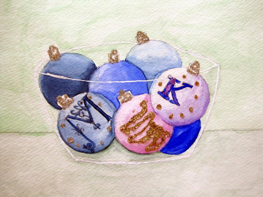 Christmas Ornaments 2011 by willow296