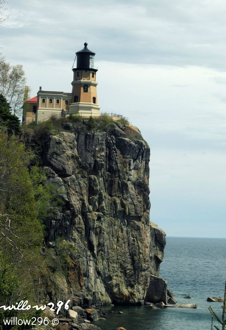 Split Rock Lighthouse by willow296