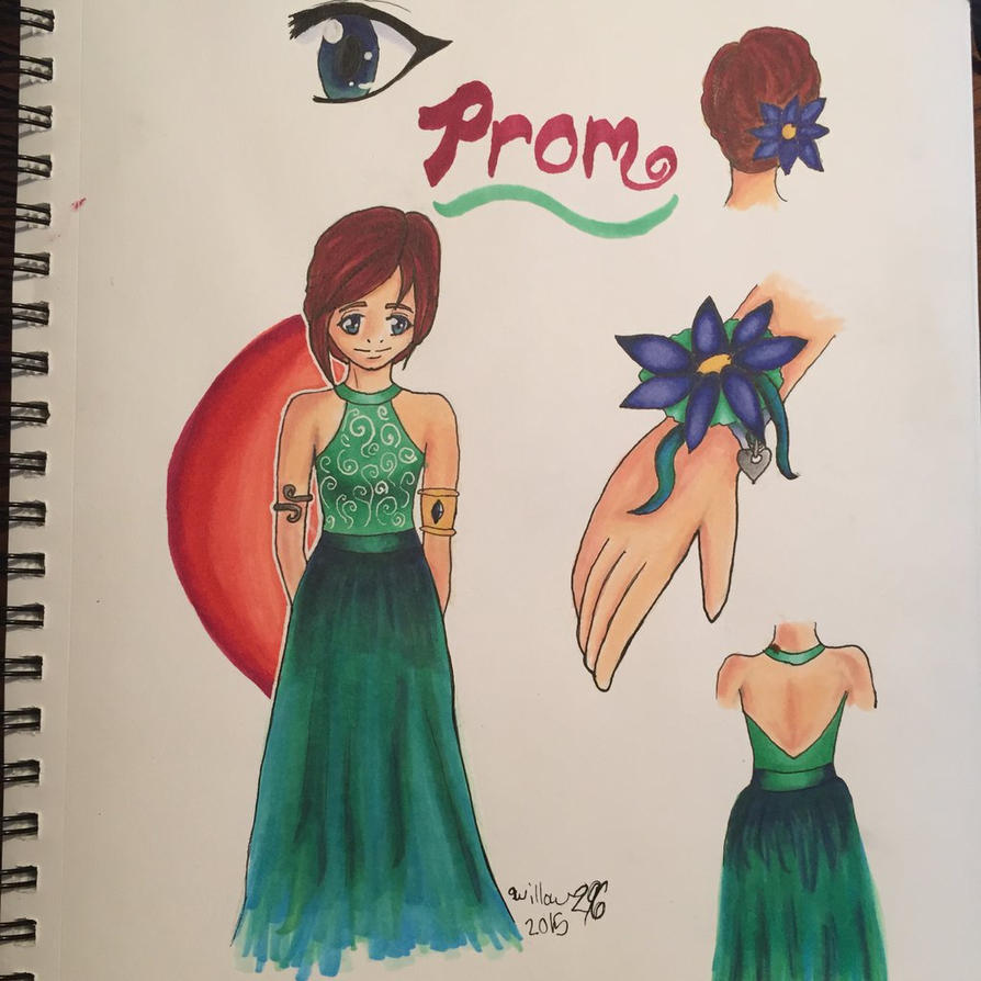 Amber's prom dress by willow296
