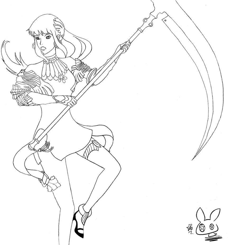 Disney Evie Coloring Pages : Mal and evie from descendants coloring pages
