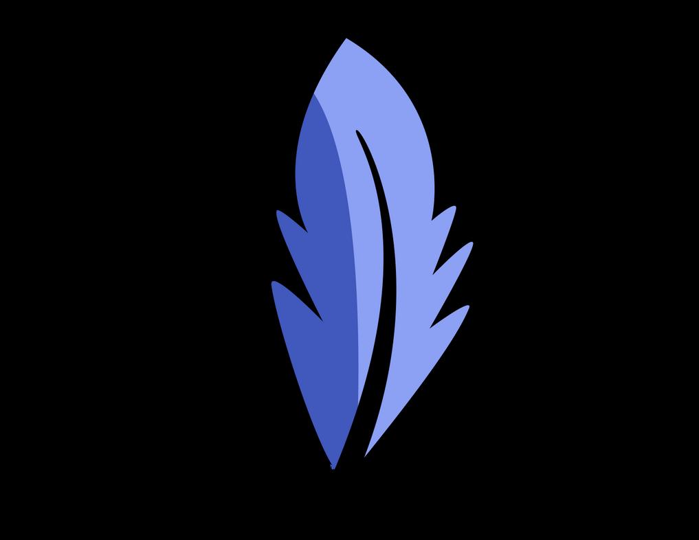 Blue Feather Cutie Mark By TellabArt On DeviantArt