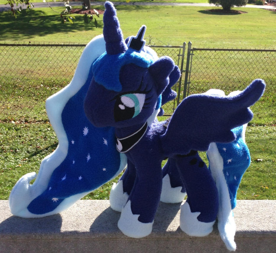 Princess Luna Plushie by TellabArt