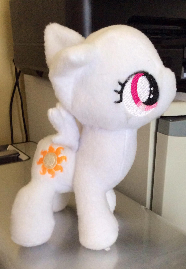 WIP Tia Plushie (new original pattern) by TellabArt