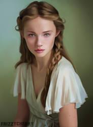 Portrait - Helena Mckelvie by frizzycherry