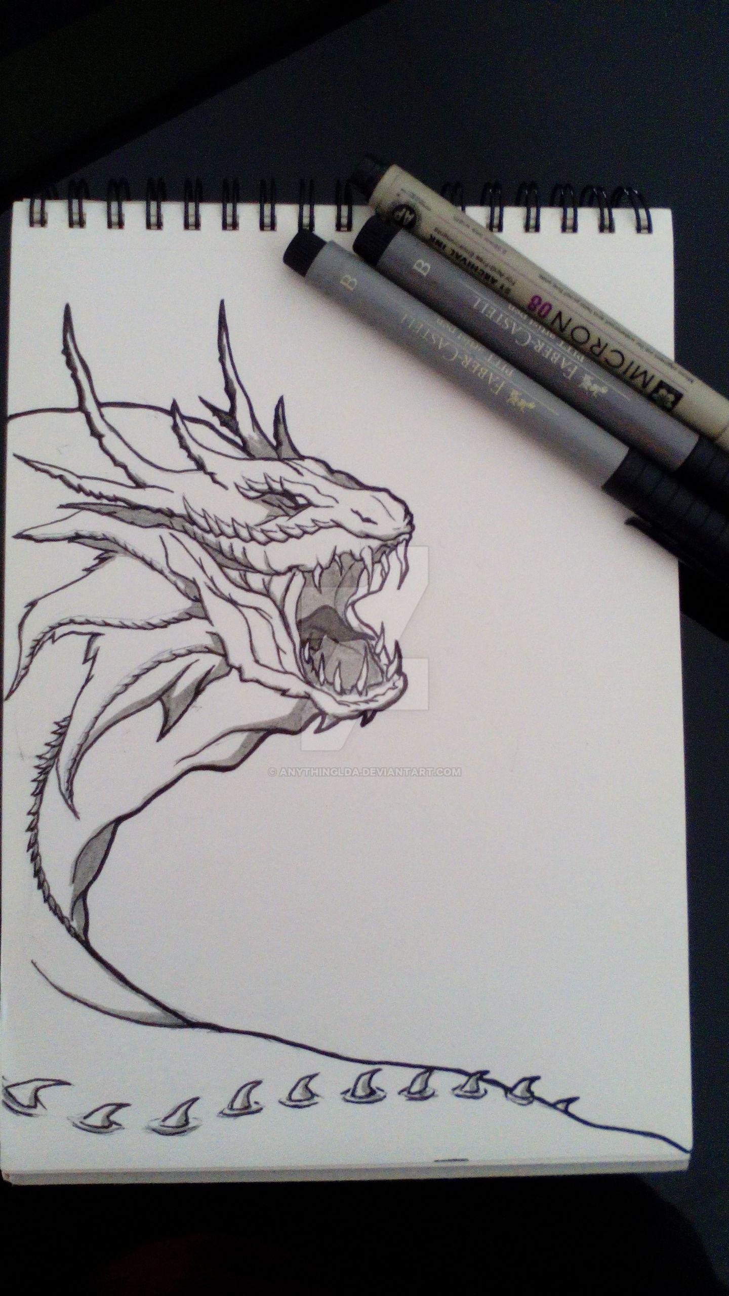 Dragon-Snake by anythingLDA