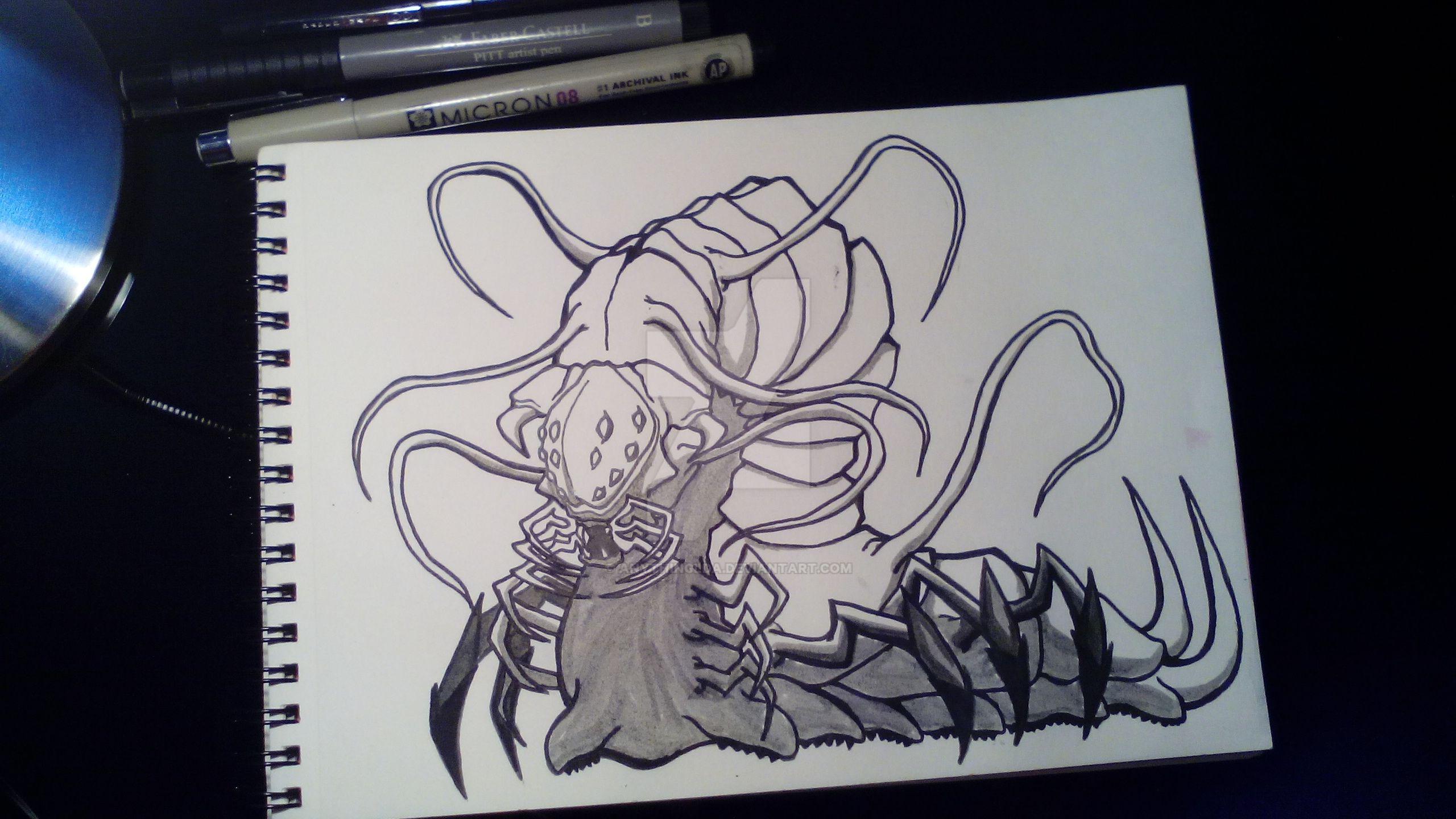 Predator Caterpillar by anythingLDA