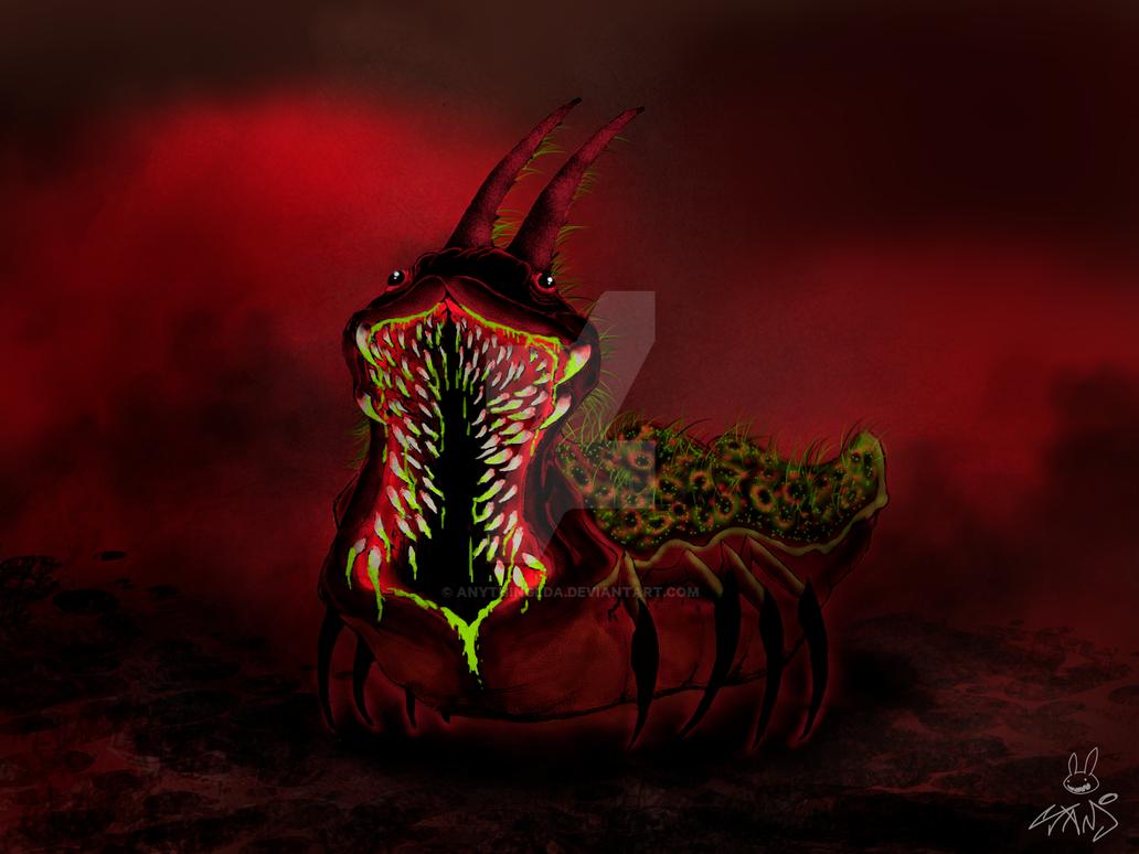 Evil Slug by anythingLDA