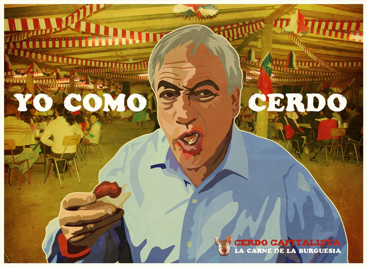 YO COMO CERDO by neopren