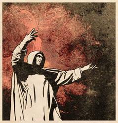 Savonarola's bonfire by neopren