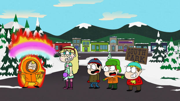 Star Butterfly Meets The South Park Boys