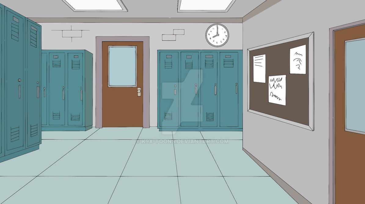 Harry Herpson High school Hallway 2 by ...